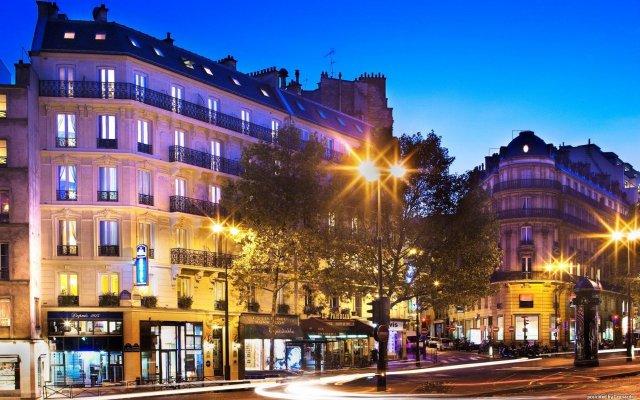 Hotel Plaza Elysées вид на фасад