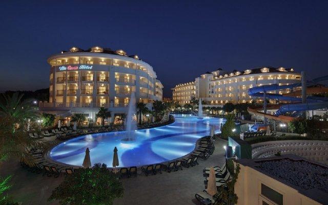 Alba Queen Hotel - All Inclusive Сиде вид на фасад