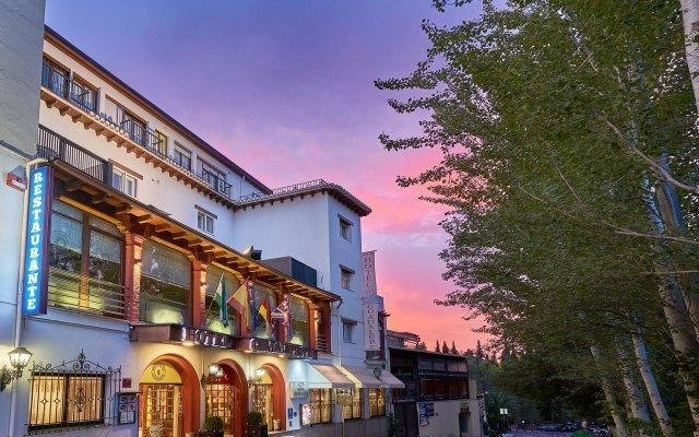 Отель Guadalupe вид на фасад