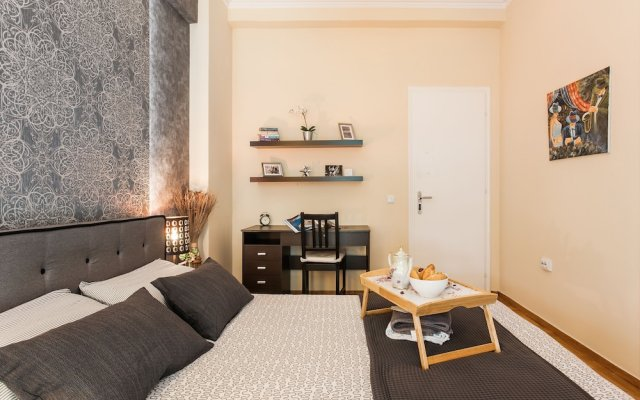 Апартаменты Beautiful Safe Apartment Near Centre комната для гостей