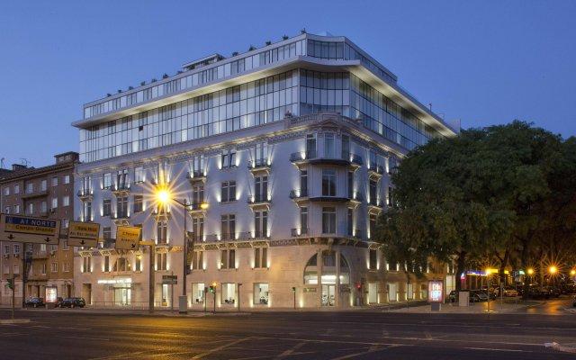 Отель Jupiter Lisboa Hotel Португалия, Лиссабон - отзывы, цены и фото номеров - забронировать отель Jupiter Lisboa Hotel онлайн вид на фасад