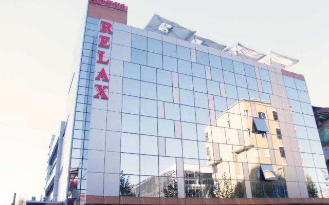 Hotel Relax Dhermi вид на фасад