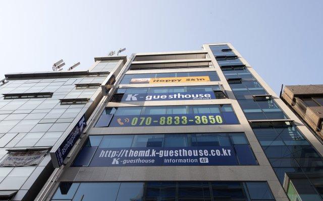 Отель K-Guesthouse Myeongdong 2 Южная Корея, Сеул - отзывы, цены и фото номеров - забронировать отель K-Guesthouse Myeongdong 2 онлайн вид на фасад