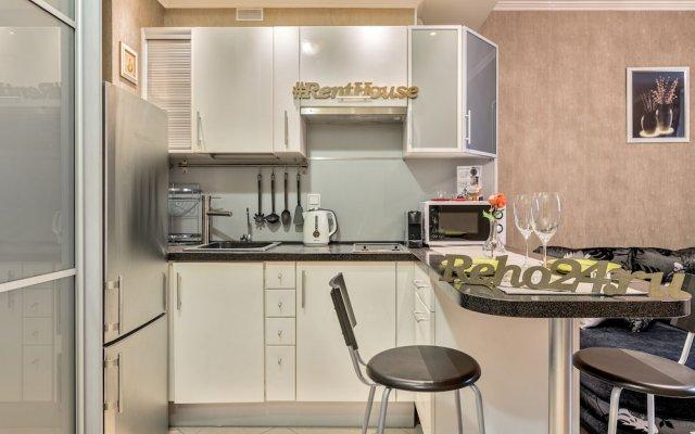 Апартаменты RentHouse Apartment Primorsky Санкт-Петербург в номере