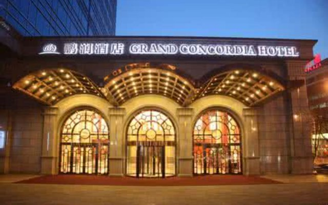 Grand Concordia Hotel вид на фасад