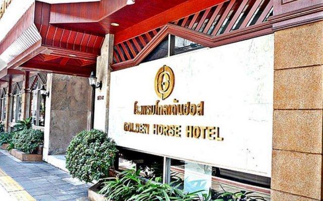 Отель Golden Horse Бангкок вид на фасад