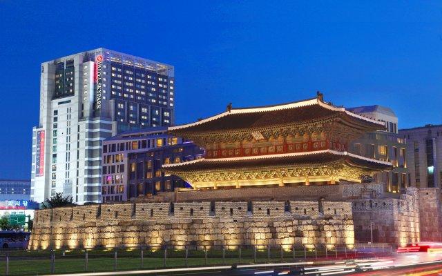Отель Skypark Kingstown Dongdaemun Южная Корея, Сеул - отзывы, цены и фото номеров - забронировать отель Skypark Kingstown Dongdaemun онлайн вид на фасад