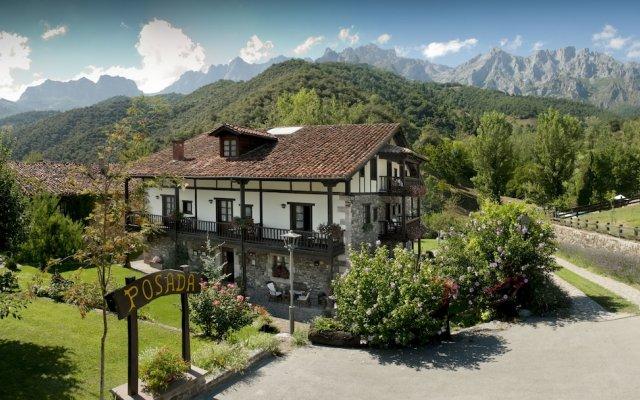Hotel Rural Posada San Pelayo вид на фасад