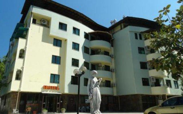 Отель Perun Hotel Sandanski Болгария, Сандански - отзывы, цены и фото номеров - забронировать отель Perun Hotel Sandanski онлайн вид на фасад