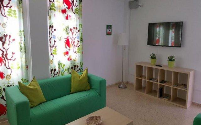 Отель Deportivo Ciw Санта Лючия комната для гостей