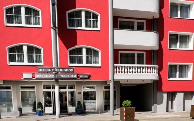 Hotel Königshof am Funkturm вид на фасад