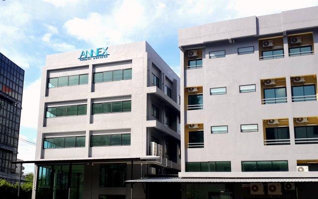 Отель Annex Lumpini Bangkok Таиланд, Бангкок - отзывы, цены и фото номеров - забронировать отель Annex Lumpini Bangkok онлайн вид на фасад