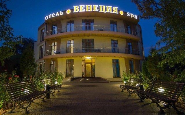 Гостиница СПА Отель Венеция Украина, Запорожье - отзывы, цены и фото номеров - забронировать гостиницу СПА Отель Венеция онлайн вид на фасад