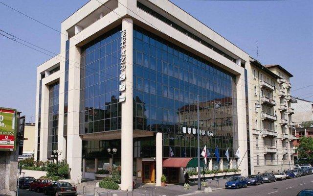 Отель UNAHOTELS Scandinavia Milano вид на фасад