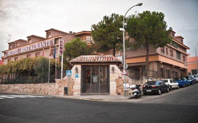 Отель ALGETE Альгете вид на фасад