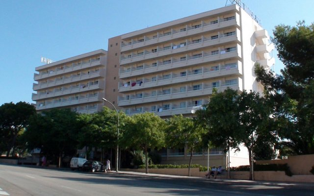 Mimosa Hotel Mallorca вид на фасад