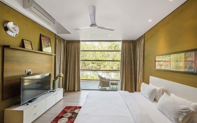 Отель GuestHouser 4 BHK Villa 4238 Гоа комната для гостей