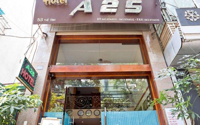 Отель A25 Hotel - Tue Tinh Вьетнам, Ханой - отзывы, цены и фото номеров - забронировать отель A25 Hotel - Tue Tinh онлайн вид на фасад
