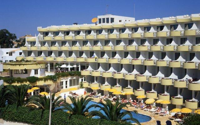 Отель Luna Clube Oceano вид на фасад