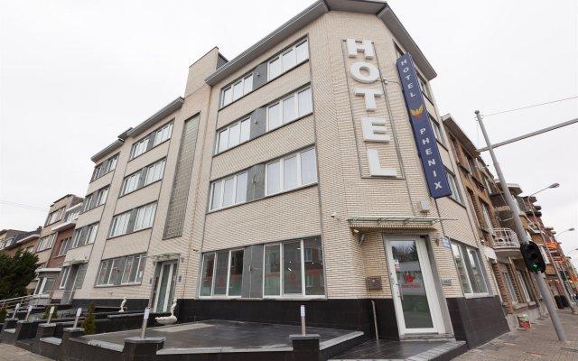 Отель Phenix Бельгия, Брюссель - отзывы, цены и фото номеров - забронировать отель Phenix онлайн вид на фасад