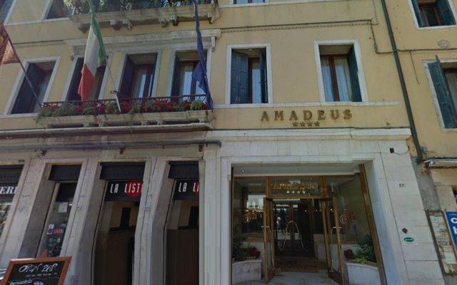 Отель Amadeus Италия, Венеция - 7 отзывов об отеле, цены и фото номеров - забронировать отель Amadeus онлайн вид на фасад
