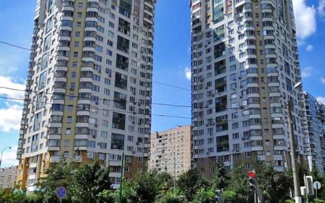 Апартаменты Apartment Hanaka on Kluchevaya 20 вид на фасад