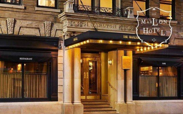 Отель The Marlton Hotel США, Нью-Йорк - отзывы, цены и фото номеров - забронировать отель The Marlton Hotel онлайн вид на фасад