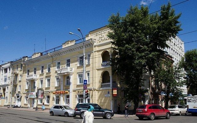 Хостел Like Irkutsk вид на фасад