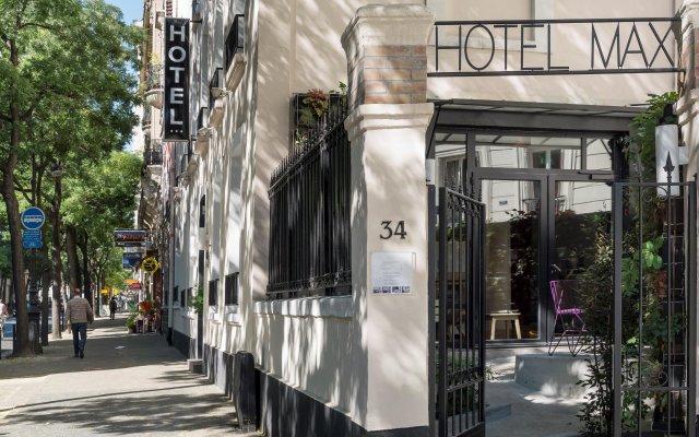 Отель Max Hotel Франция, Париж - отзывы, цены и фото номеров - забронировать отель Max Hotel онлайн вид на фасад