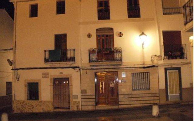 Отель Pensión San Vicente Испания, Олива - отзывы, цены и фото номеров - забронировать отель Pensión San Vicente онлайн вид на фасад
