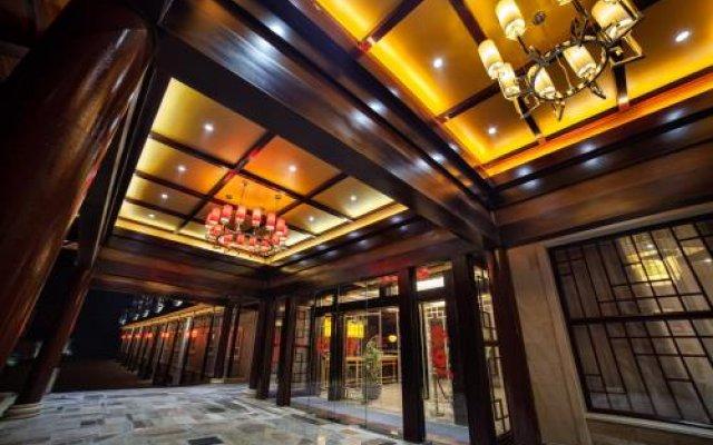 Hotel Shanghai City вид на фасад