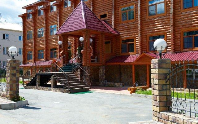 Белка Отель вид на фасад
