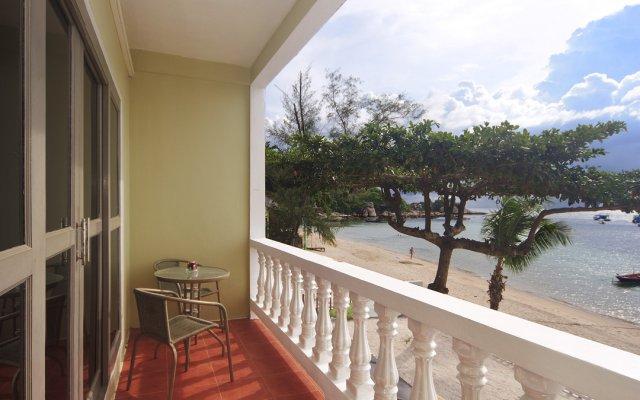 Отель Coral View Maehaad Serviced Apartment Таиланд, Мэй-Хаад-Бэй - отзывы, цены и фото номеров - забронировать отель Coral View Maehaad Serviced Apartment онлайн балкон