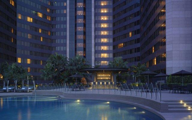 Отель Grand Hyatt Taipei Тайвань, Тайбэй - отзывы, цены и фото номеров - забронировать отель Grand Hyatt Taipei онлайн вид на фасад