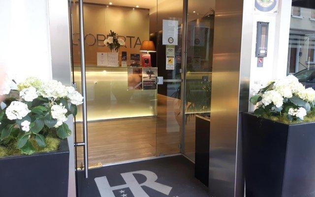 Hotel Roberta вид на фасад