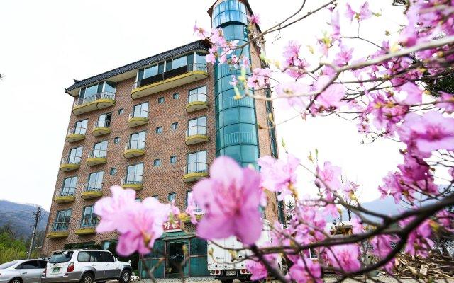 Отель Boosung Park Motel Южная Корея, Пхёнчан - отзывы, цены и фото номеров - забронировать отель Boosung Park Motel онлайн вид на фасад