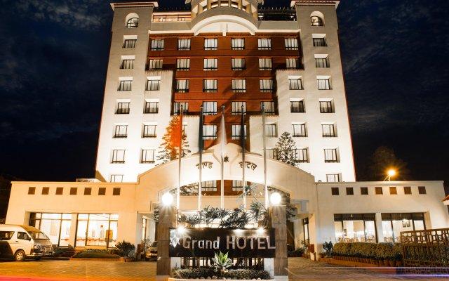 Отель Grand Hotel Kathmandu Непал, Катманду - отзывы, цены и фото номеров - забронировать отель Grand Hotel Kathmandu онлайн вид на фасад