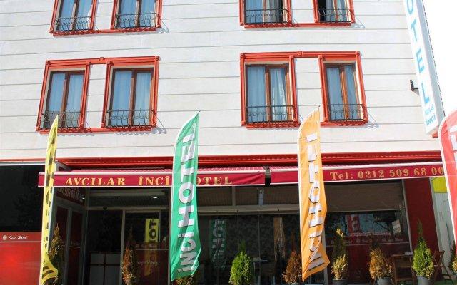 Avcilar Inci Hotel Стамбул вид на фасад