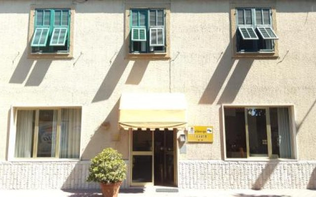 Отель Albergo Savoia Оспедалетти вид на фасад