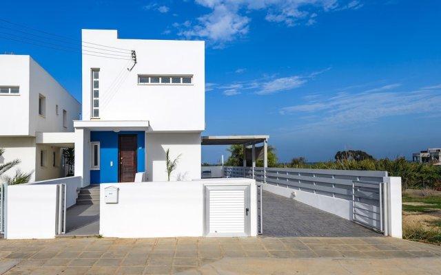 Отель Ayia Triada View Кипр, Протарас - отзывы, цены и фото номеров - забронировать отель Ayia Triada View онлайн вид на фасад