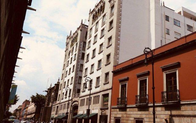 Отель Chillout Flat Bed & Breakfast Мехико вид на фасад