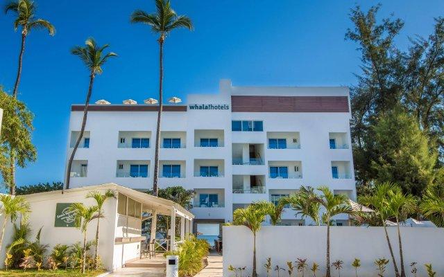 Отель whala!bávaro Доминикана, Пунта Кана - 5 отзывов об отеле, цены и фото номеров - забронировать отель whala!bávaro онлайн вид на фасад
