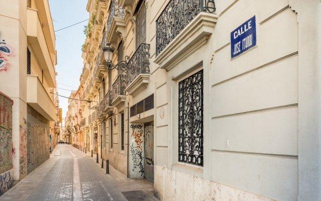 Отель Musico Art Flat Испания, Валенсия - отзывы, цены и фото номеров - забронировать отель Musico Art Flat онлайн вид на фасад