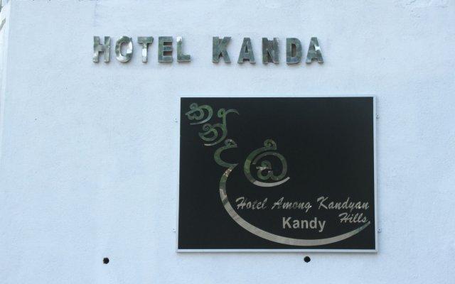 Отель Kanda Uda - Kandy Paris Канди вид на фасад