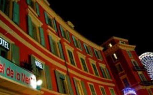 Отель De La Mer Франция, Ницца - отзывы, цены и фото номеров - забронировать отель De La Mer онлайн вид на фасад