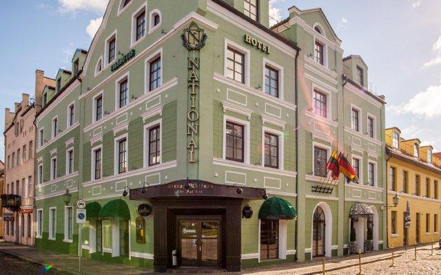 Отель National Hotel Литва, Клайпеда - 1 отзыв об отеле, цены и фото номеров - забронировать отель National Hotel онлайн вид на фасад
