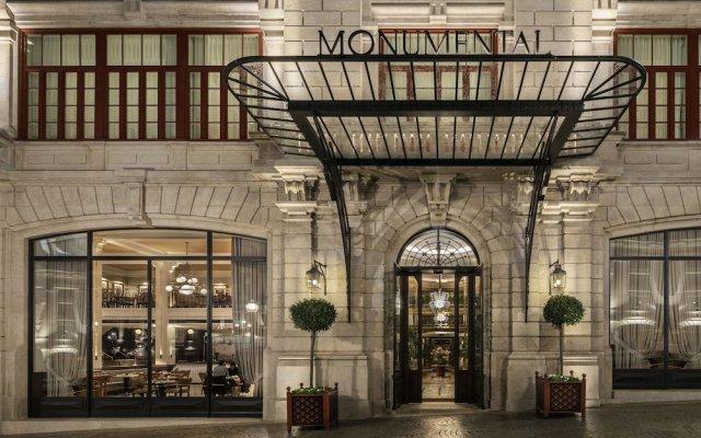 Отель Maison Albar Hotels Le Monumental Palace Португалия, Порту - отзывы, цены и фото номеров - забронировать отель Maison Albar Hotels Le Monumental Palace онлайн вид на фасад