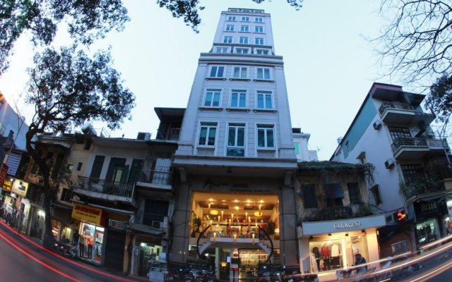 Отель Anise Hanoi вид на фасад