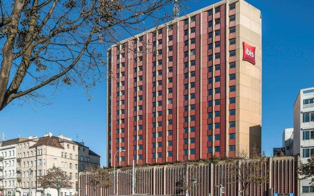 Отель ibis Wien Mariahilf вид на фасад
