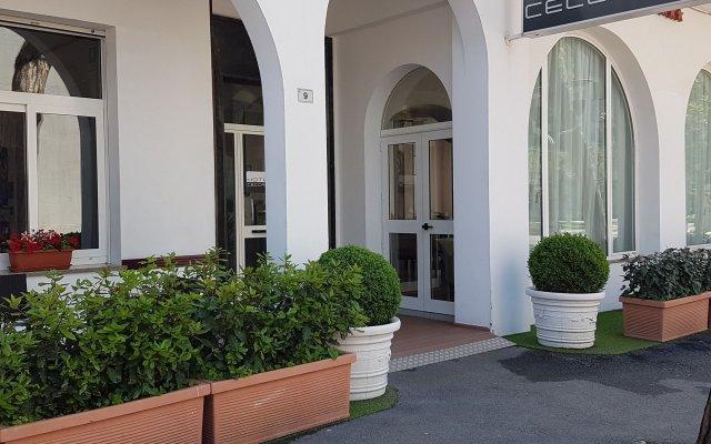 Отель Ceccarini 9 Италия, Риччоне - отзывы, цены и фото номеров - забронировать отель Ceccarini 9 онлайн вид на фасад